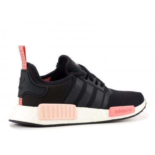 Кроссовки Adidas NMD Runner PK Черные с розовым