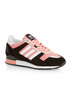 Кроссовки Adidas ZX 700 Черно-розовые