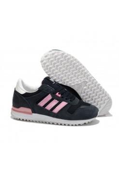 Кроссовки Adidas ZX 700 Черные с розовым