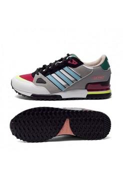 Кроссовки Adidas Originals ZX 750 Серые с синим