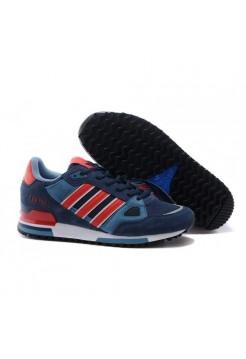 Кроссовки Adidas ZX 750 Сине-красные