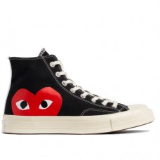 Кеды Converse Comme Des Garcons Black High