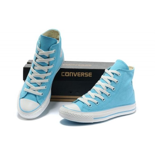 Кеды Converse Chuck Taylor All Star II High Голубые