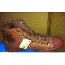 Кеды Converse Leather Brown High