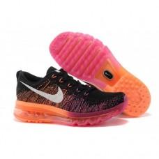 Кроссовки Nike Air Max Flyknit 2016 Черные с красным