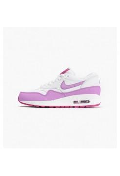 Кроссовки Nike Air Max 87 Eessential Бело-фиолетовые