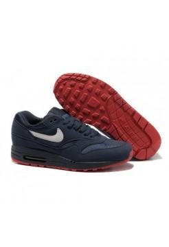 Кроссовки Nike Air Max 87 Синие с красным