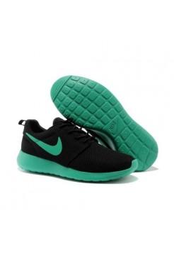 Кроссовки Nike Roshe Run Черно-бирюзовые