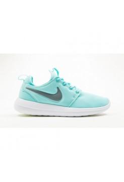 Кроссовки Nike Roshe Run Hyperfuse Голубые