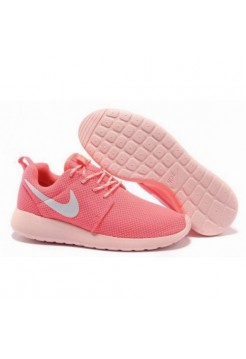 Кроссовки Nike Roshe Run Коралловые