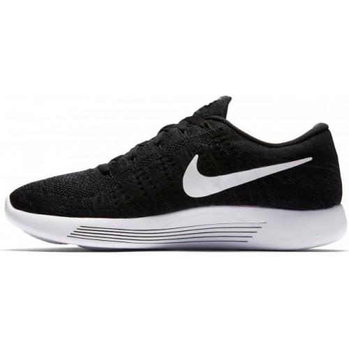 Кроссовки Nike Flyknit Lunar Черно-белые