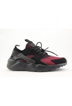 Кроссовки Nike Air Huarache Ultra Черно-красные