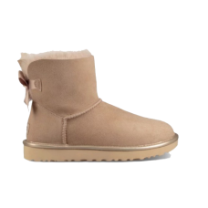 UGG Mini Bailey Bow II Metallic Бежевый