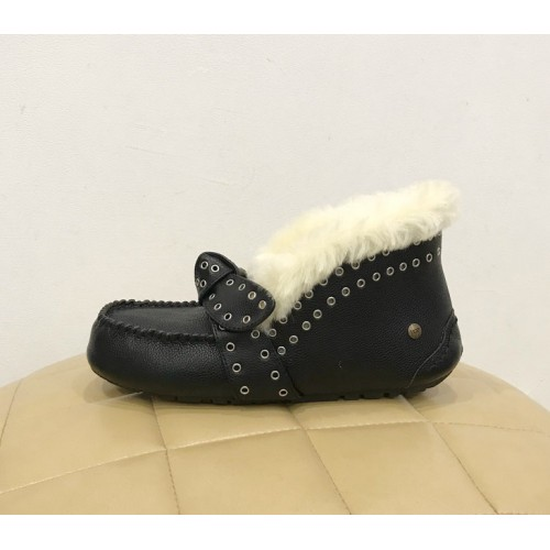 Мокасины UGG Australia Alena Leather Black