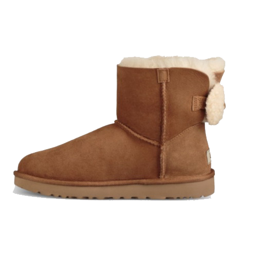 UGG Mini Bailey Bow Arielle Chestnut