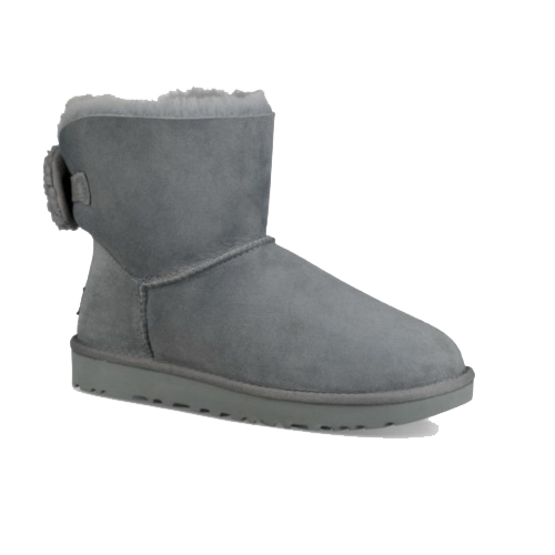 UGG Mini Bailey Bow Arielle Grey