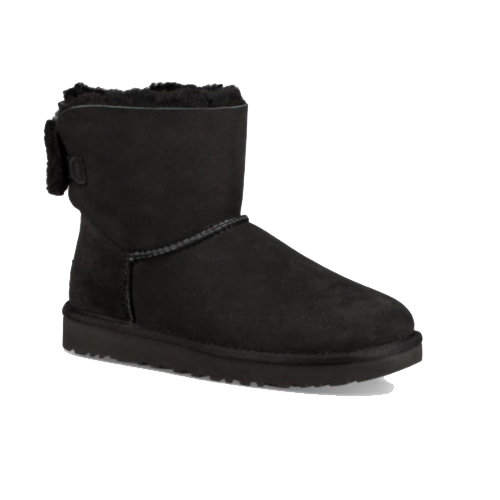 UGG Mini Bailey Bow Arielle Black