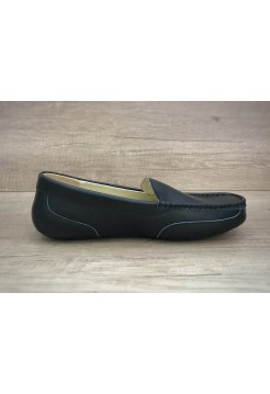 UGG Ascot Summer Leather Black