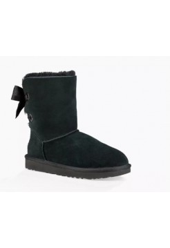 UGG Bailey Bow Customizable Black