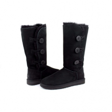 UGG Bailey Button Triplet Black II