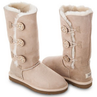 UGG Bailey Button Triplet Sand II