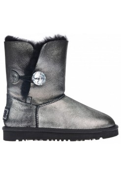 UGG Bailey Button I DO Metallic black Glitter