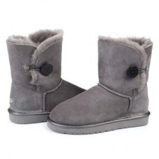 UGG Bailey Button Grey Metallic