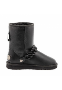 UGG Classic Metallic Chain Black