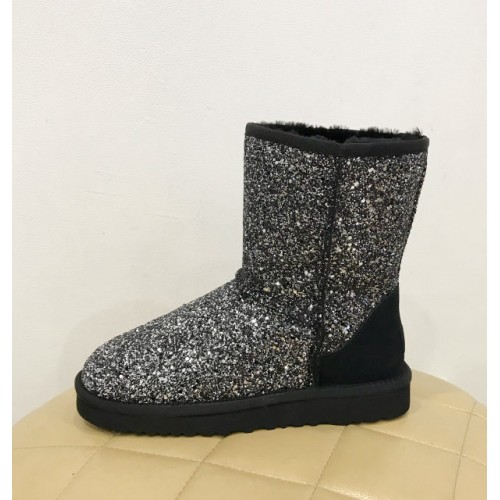 UGG Classic Short Star Dust Silver