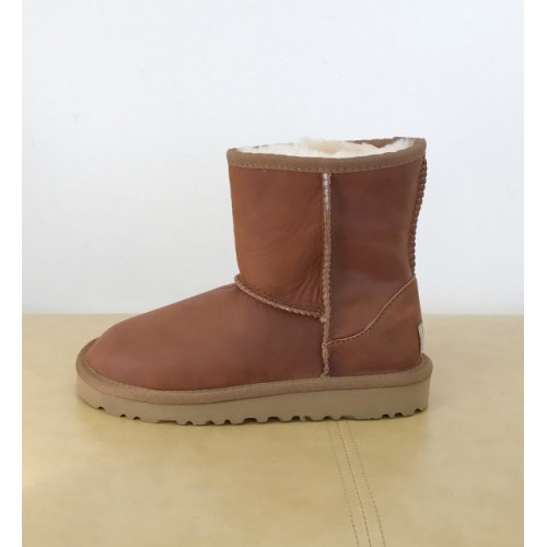 UGG Classic Short Kids Chocolate нубуковые
