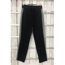 Мужские брюки UGG Australia черные с серыми лампасами