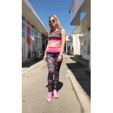Женский спортивный костюм для фитнеса Colors of California