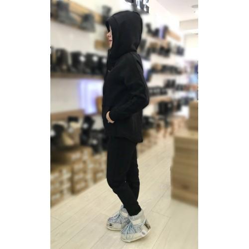 Теплый костюм UGG Australia Zip Merino Black Черный на молнии