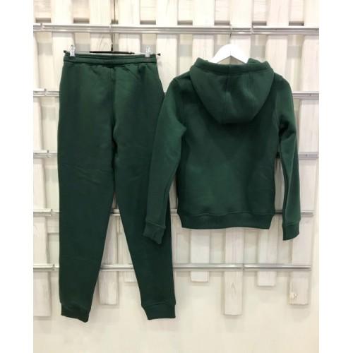 Теплый костюм UGG Australia Print Classic Neck Hoodie Green, зеленый