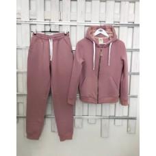 Теплый костюм UGG Australia Zip Merino Pink пудровый на молнии