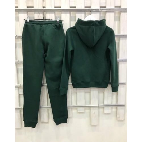 Теплый костюм UGG Australia Print Tall Neck Hoodie Green, зеленый, высокое горло