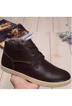 UGG Kramer Leather Chocolate