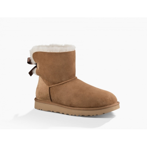 UGG Mini Bailey Bow Chestnut II