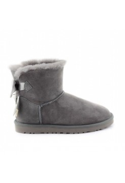 UGG Mini Bailey Bow Серые