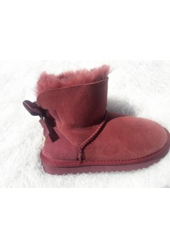 UGG Mini Bailey Bow Бордо