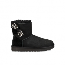 UGG Mini Bailey Bow Brilliant Black