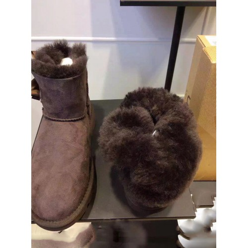 UGG Mini Bailey Bow Knot Коричневые