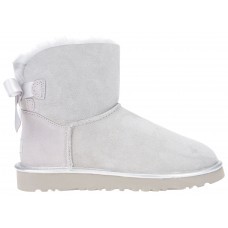 UGG Mini Bailey Bow II Metallic Gys