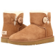 UGG Mini Bailey Button Chestnut II