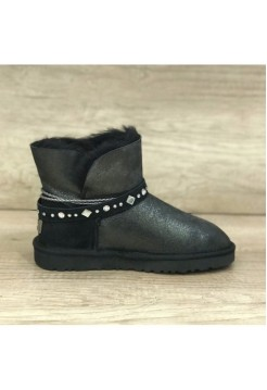UGG Classic Mini Braid Black