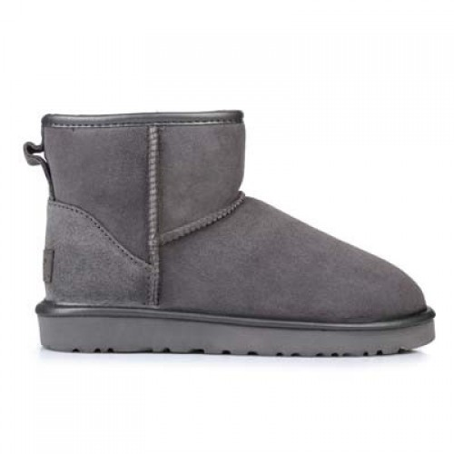 UGG Classic Mini Grey Metallic