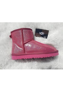 UGG Classic Mini Jimmy Choo Crimson