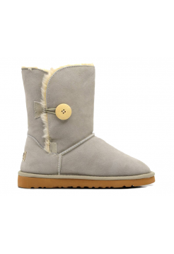 Угги Mid Bailey Button Light Grey