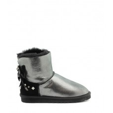 UGG Mini Bailey Renn braid glitter-black