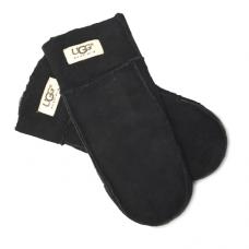Перчатки UGG Sheepskin Black Mittens